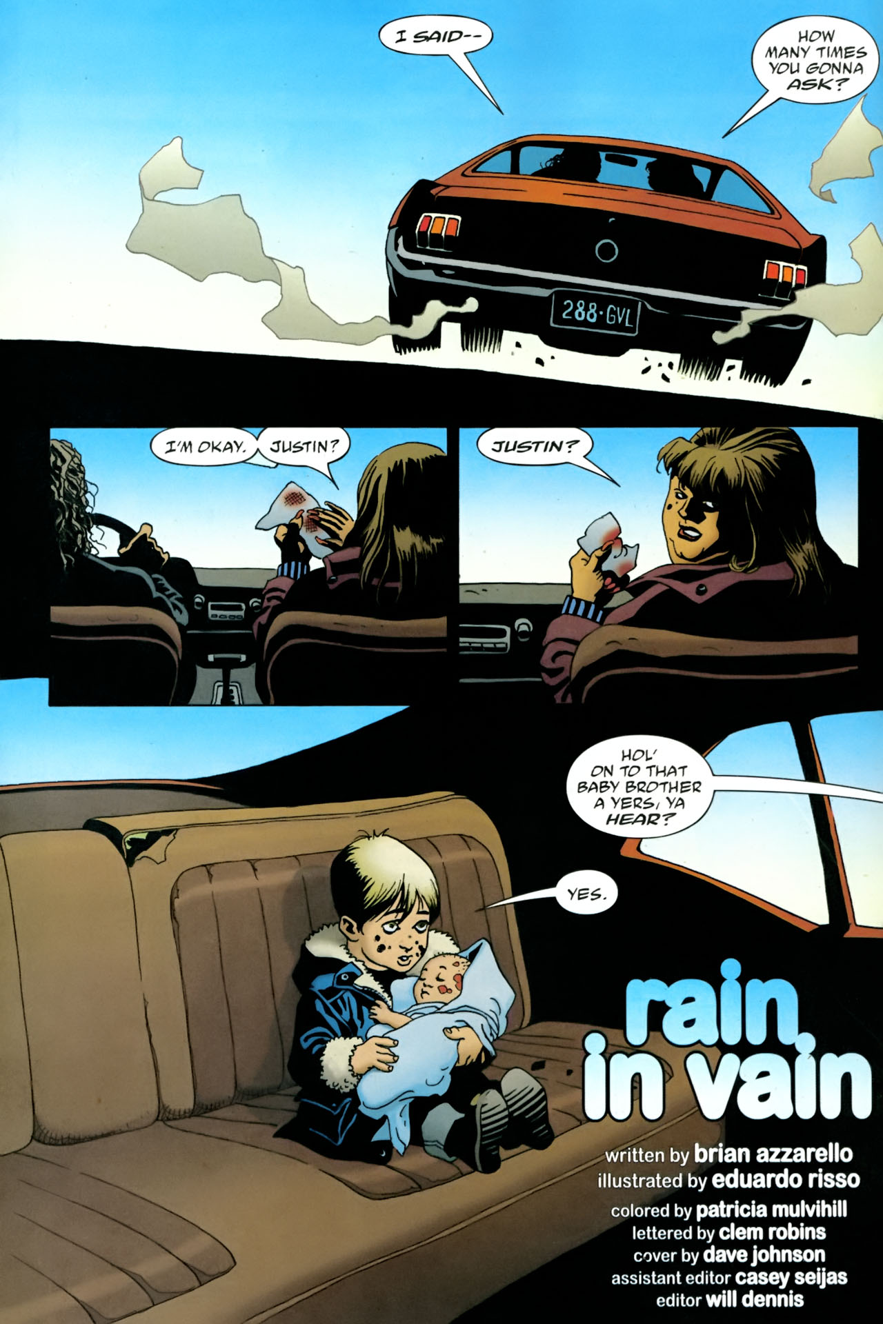 Read online 100 Bullets comic -  Issue #86 - 5