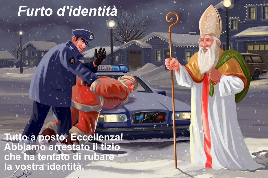 Babbo Natale E San Nicola.Mil Messainlatino It Arrestato Babbo Natale Si