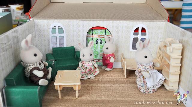 Кролики в новом доме