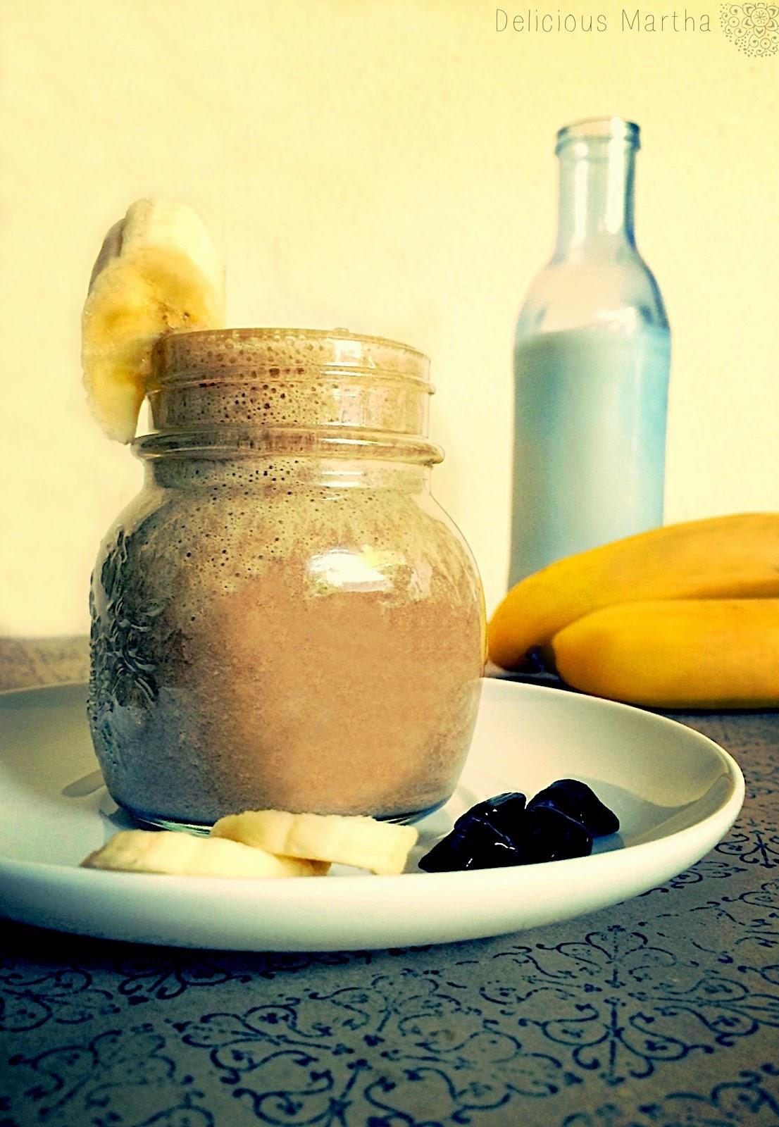 Smoothie de plátano con Liquorice LAKRIDS