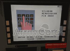 cara mengambil uang di mesin atm bca