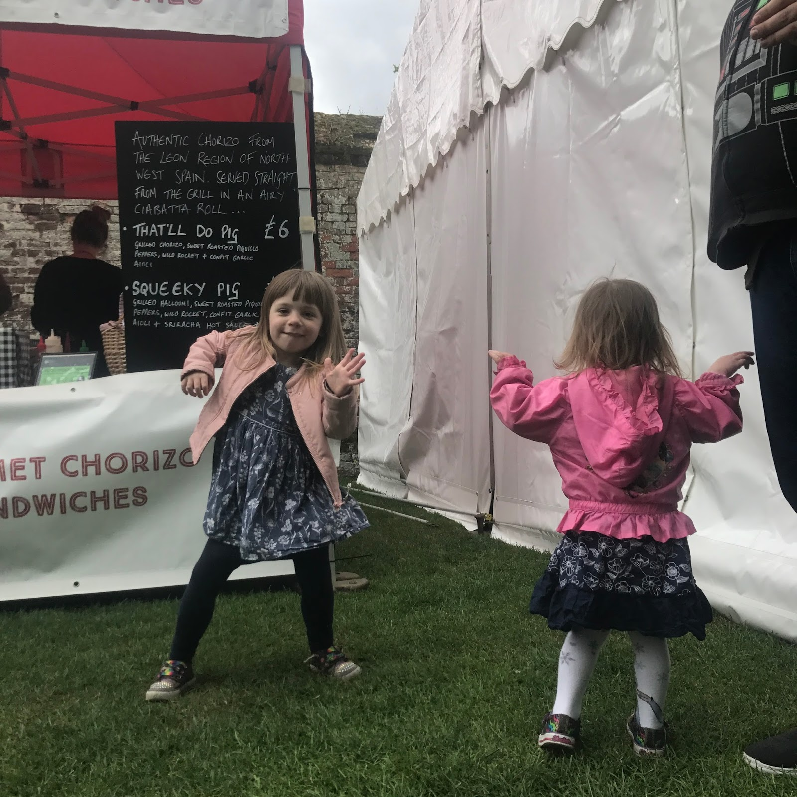 Dancing at Ely Food Festival 2017