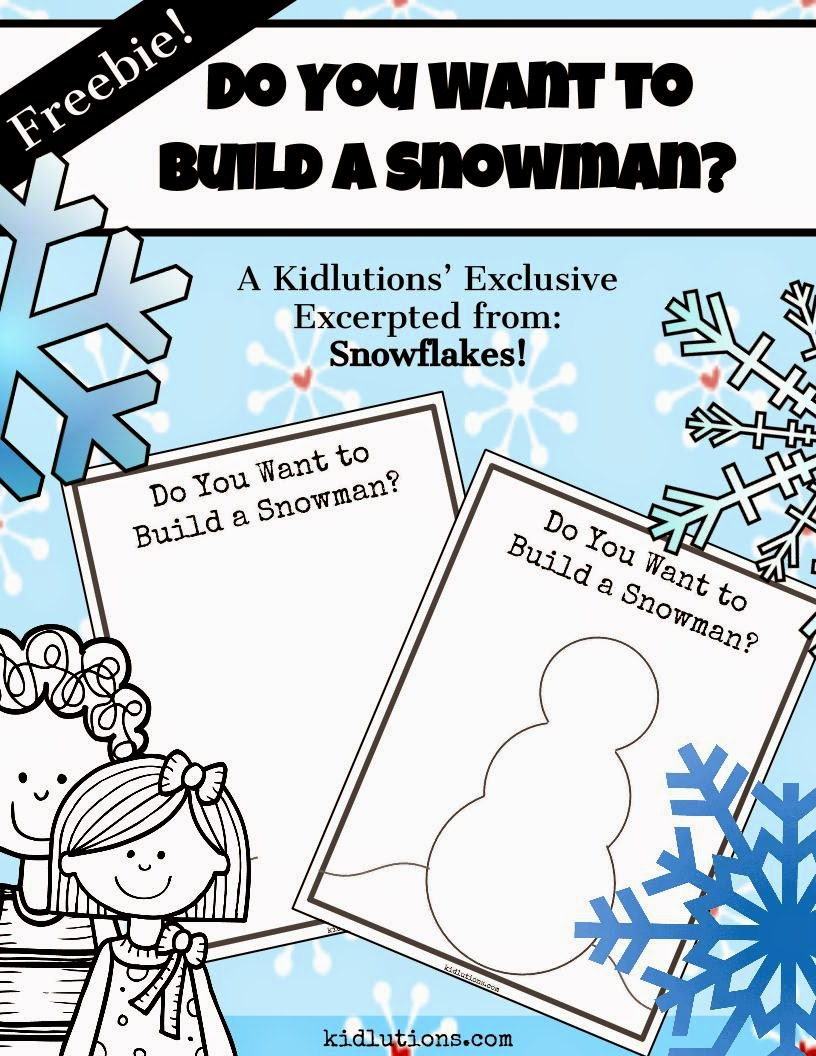 graphic about Do You Want to Build a Snowman Printable referred to as Do By yourself Need to have in direction of Produce a Snowman? #Freebie #Printable