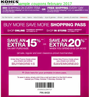 free Victoria's Secret coupons february 2017