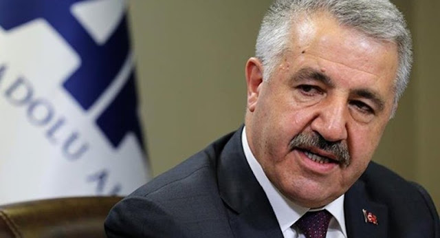 Ulaştırma Denizcilik ve Haberleşme Bakanı Ahmet Arslan