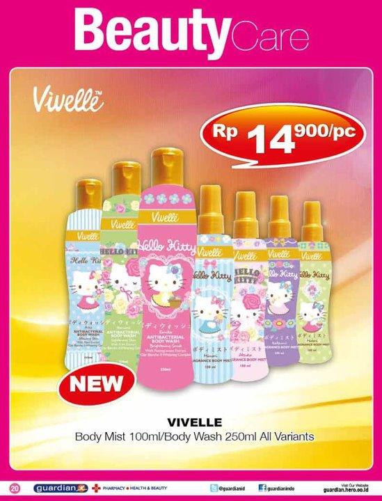 Indah Kusuma Dewi Vivelle Hello Kitty Fragrance Body Mist