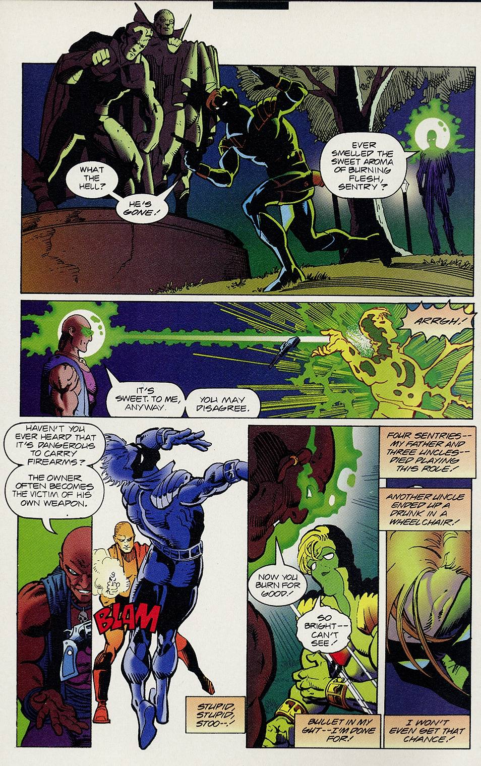 Read online Solar, Man of the Atom comic -  Issue #46 - 7
