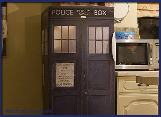 If I add a TARDIS Vinyl to my fridge will it make the inside bigger?