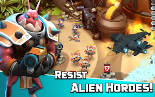 Alien Creeps TD Mod Apk v2.11.0 (Unlimited Coin)