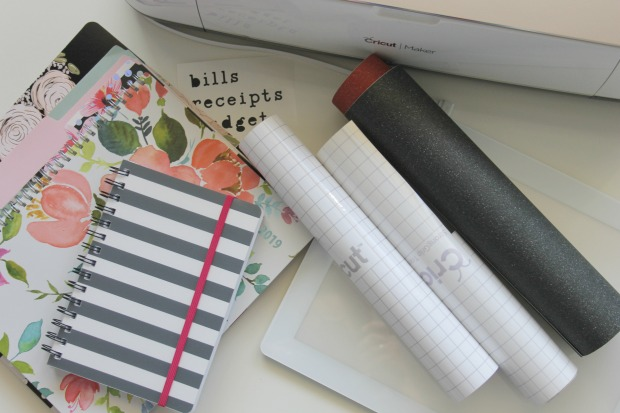 Ginger Snap Crafts: Cute Organization with the Cricut