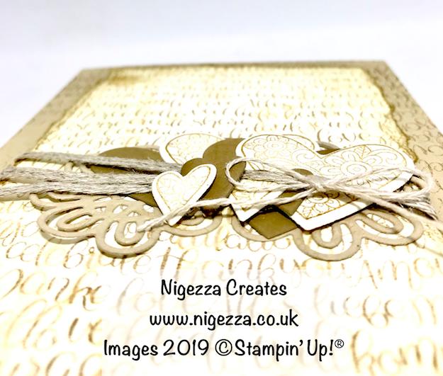 #stampinforall Monday Design Team Challenge: Valentines Nigezza Creates Stampin' Up!