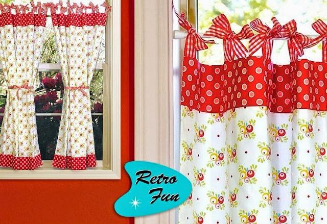 Elegant Kitchen Curtains 6