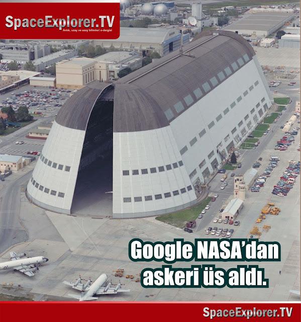 NASA, ABD, Google, Google X, Havacılık, Uzay, Askeri üsler, Robot teknolojisi,