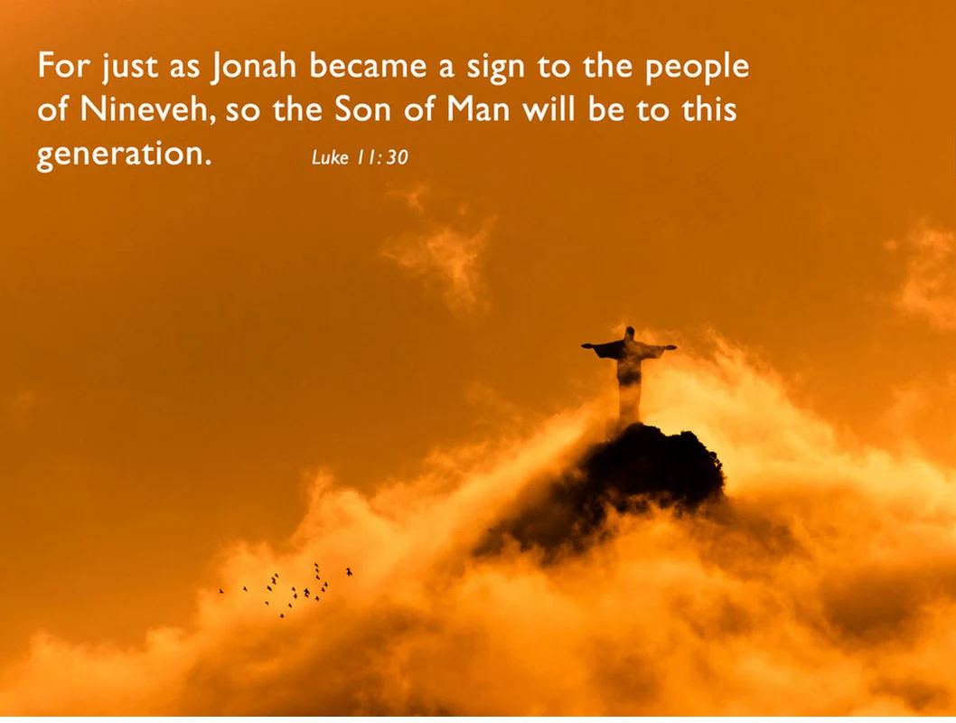 Understanding of God's eternal plan of salvation (Luke 11:30)