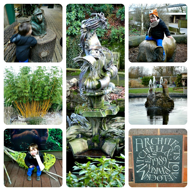 Chester Zoo Art Plants
