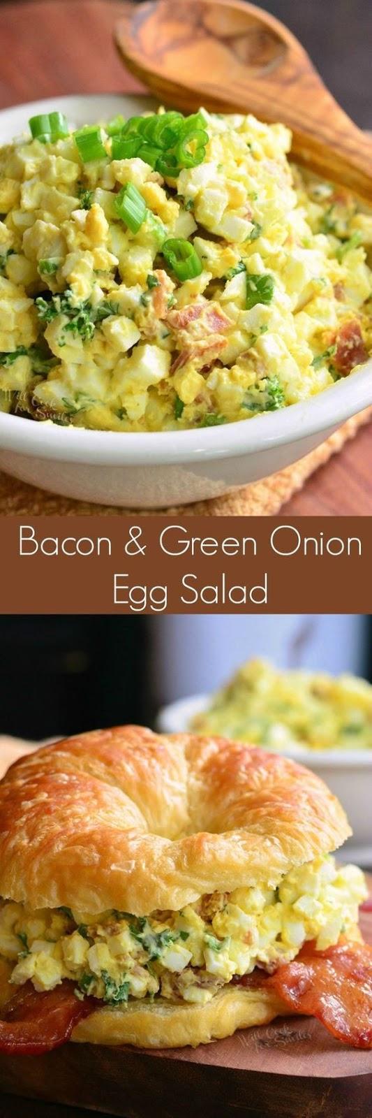 Bacon and Green Onion Egg Salad