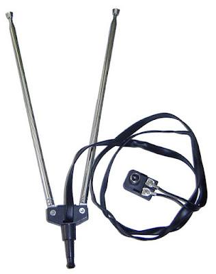 küçük tv teleskobik karasal anten