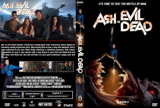 Ash Vs Evil Dead Season 3 DVD Cover