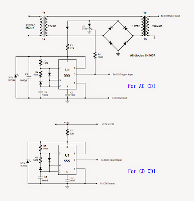 CDI Tester Circuit ~ Electronic Circuit Projects