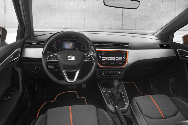 Seat Ibiza 2019 - interior - Cockpit Digital