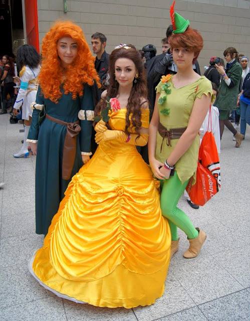 disney cosplay brave belle peter pan