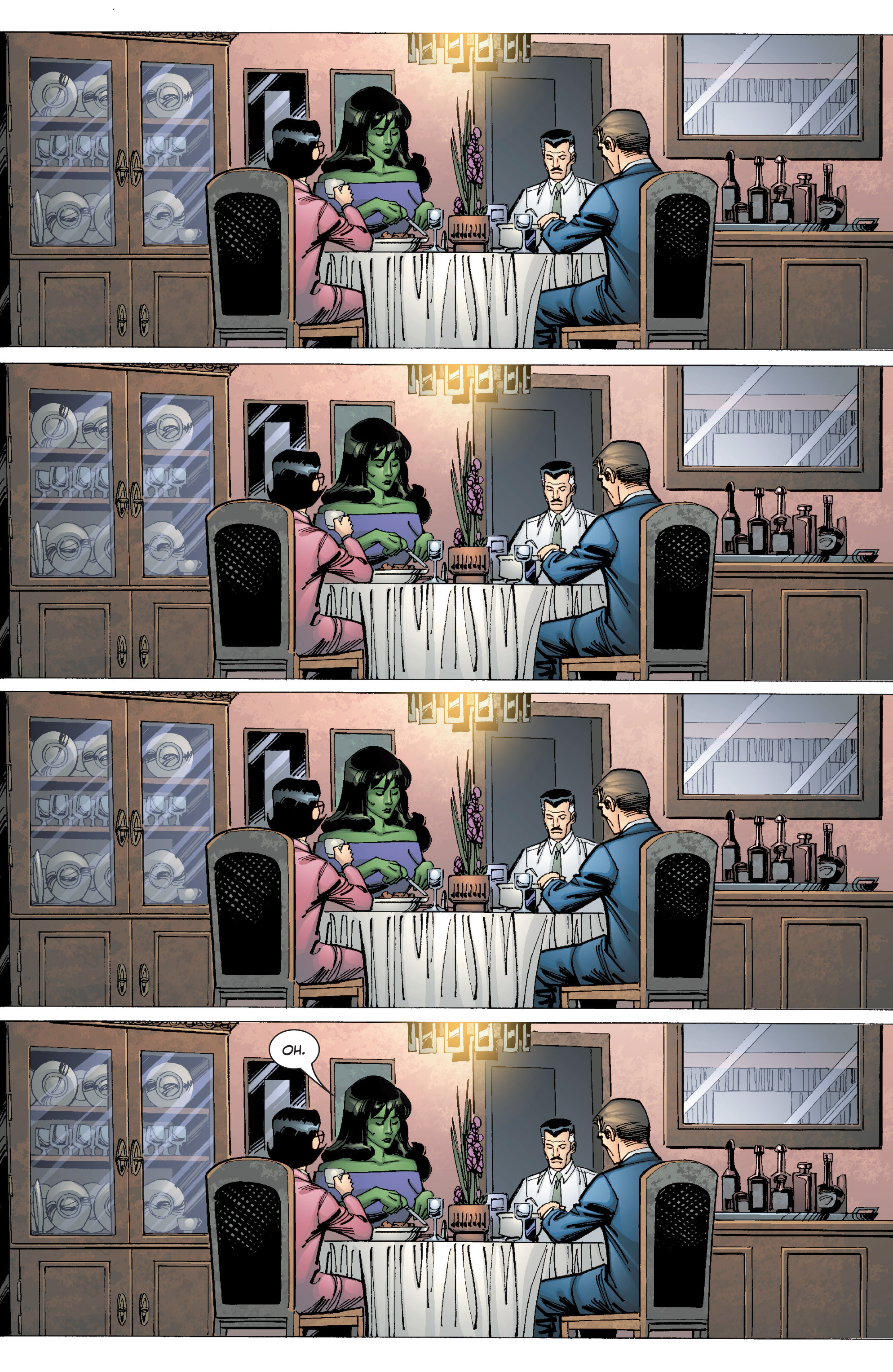 Read online She-Hulk (2005) comic -  Issue #9 - 16