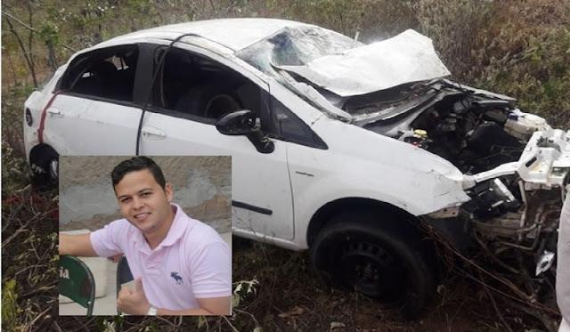 Monte Santo: Jovem de 26 anos morre em acidente na BA-220