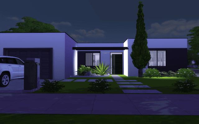 villa sims 4 design