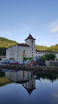 Reflective views in Urdazubi