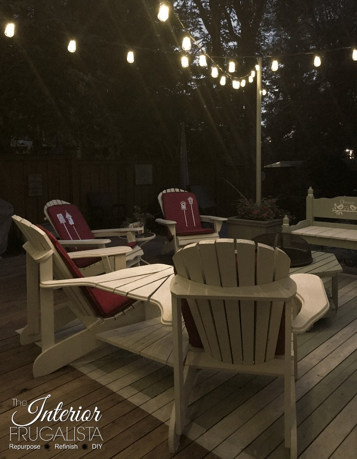 Budget Friendly Deck Makeover Reveal String Lights2