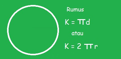 Jika ada sebuah pertanyaan perihal menghitung sebuah diameter lingkaran bila sudah di ket Rumus Diameter Lingkaran