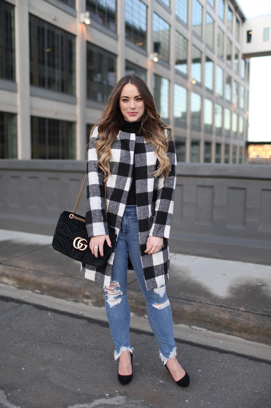 Street Style Checkered Jacket