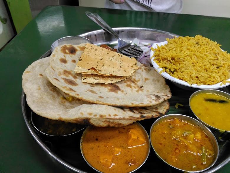 午餐-印度烤餅套餐