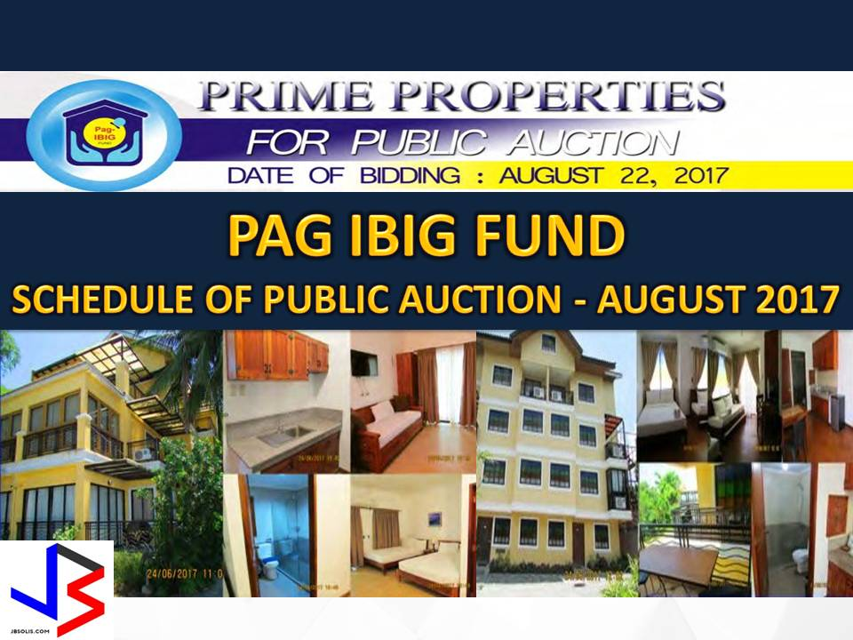 Hundreds of acquired assets of properties of Pag-IBIG Fund will be auctioned this August 2017. Five Pag-IBIG branches nationwide will be participating in the public auctions. These includes National Capital Region, Calamba City, Dagupan and Tuguegarao.   If you are looking for properties to buy such as lot, house and lot, townhouse, duplex, Quadro-duplex, row houses, and many others, this is your opportunity to own.  Disclaimer: Thoughtskoto is not affiliated nor is we selling any property. All the information had been verified through Pag-Ibig website. We encourage you to transact only with Pag-Ibig authorized agent in their office when participating in an auction.