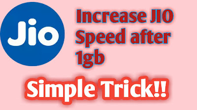 How To Increase JIO Speed Without Recharge? , Reliance JIO Tricks, Internet Tricks