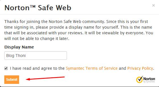 Cara Memasang Meta Tag Norton SafeWEB Site Verification