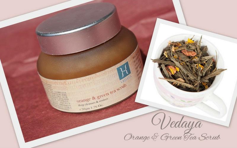 Отзыв: Красота по-индийски. Разглаживающий скраб для лица Апельсин и Зеленый чай Vedaya Orange & Green Tea Scrub.