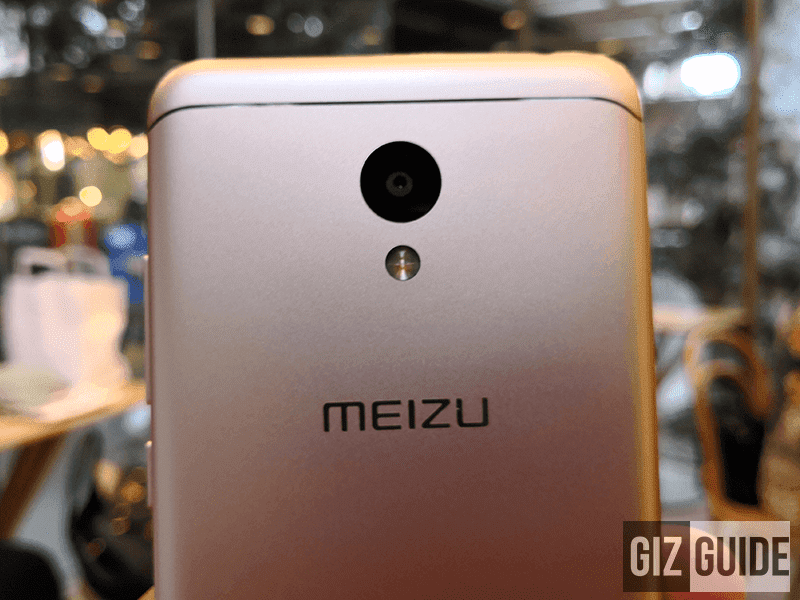 Meizu M6 13MP rear camera