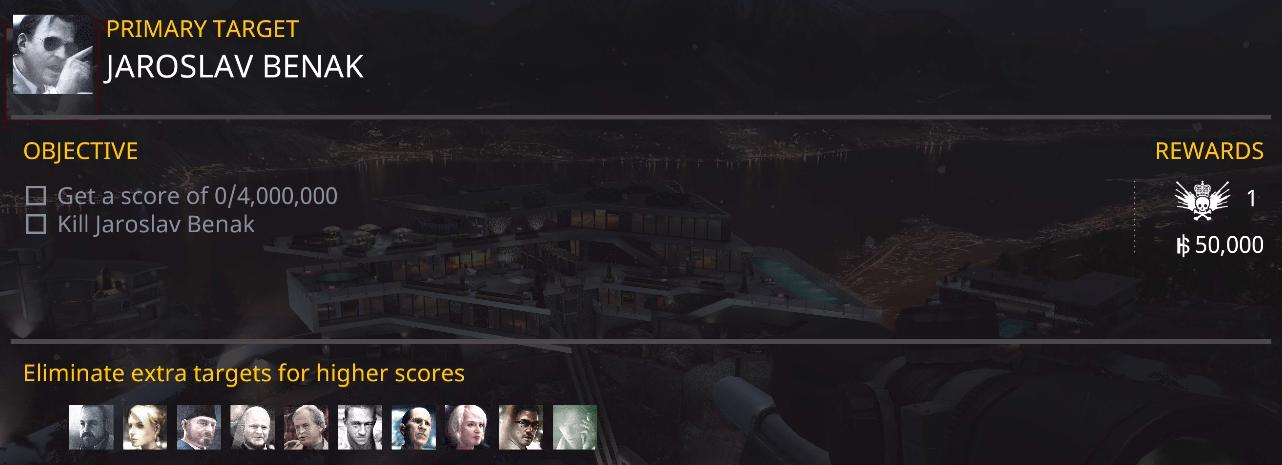 のいたんのHitman:Sniper攻略: CHAPTER 5 MISSION 25