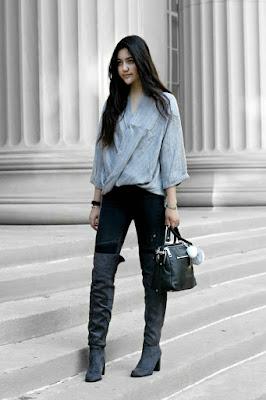 Trend Addict : Winter 2015/2016 Trend Spotlight: Over-the-Knee Boots