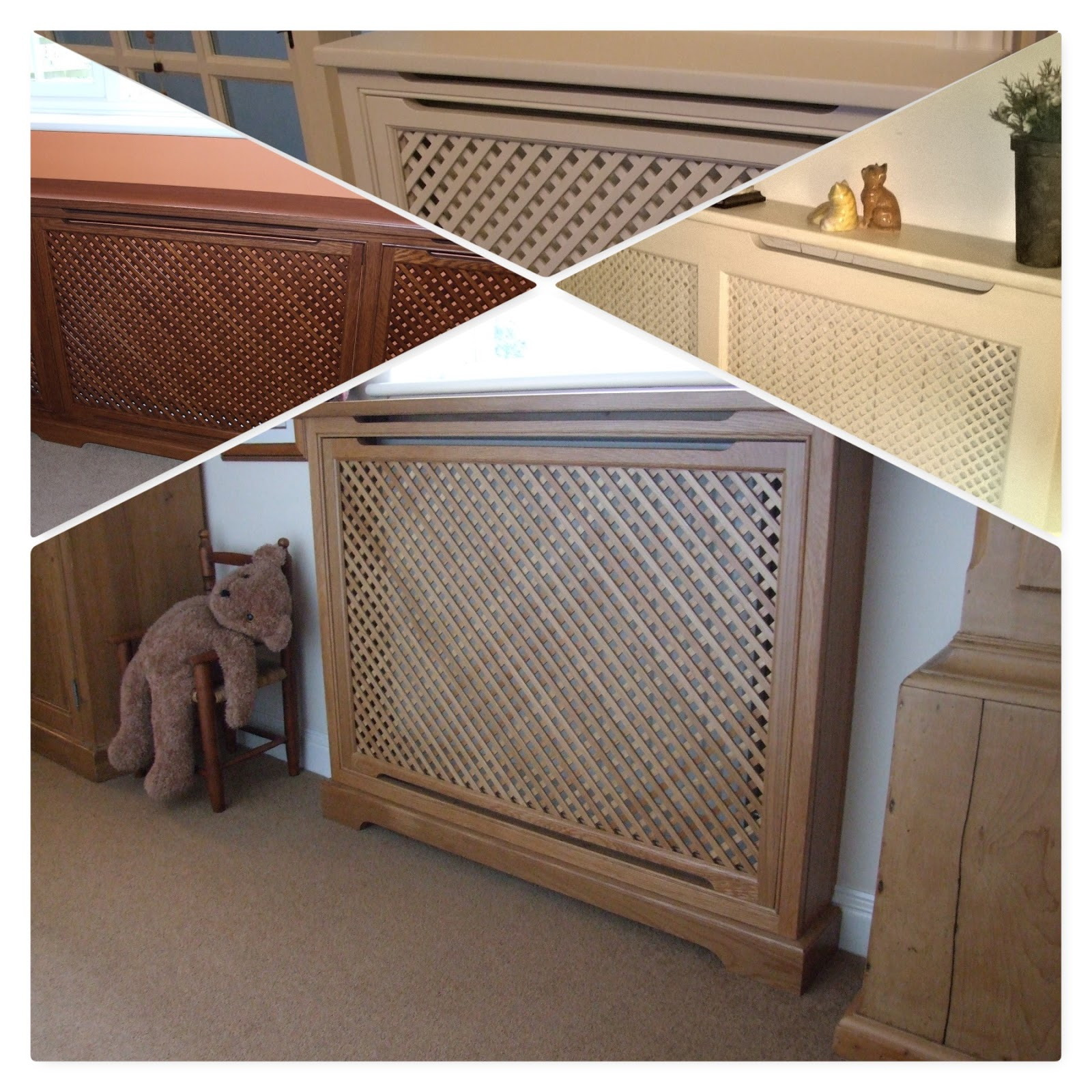 Below Is A Selection Of Radiator Covers Teddy Loves His