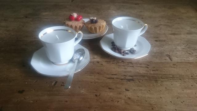 DIY kaars koffiekopje