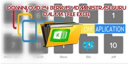 Kumpulan Berkas Administrasi Guru dalam 1 File Excel