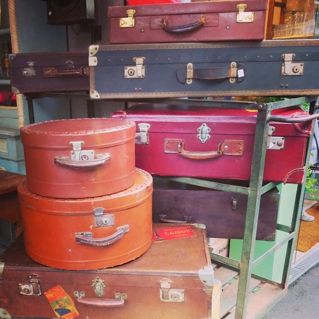 Les Puces - Paris Flea Market - You May Be Wandering blog