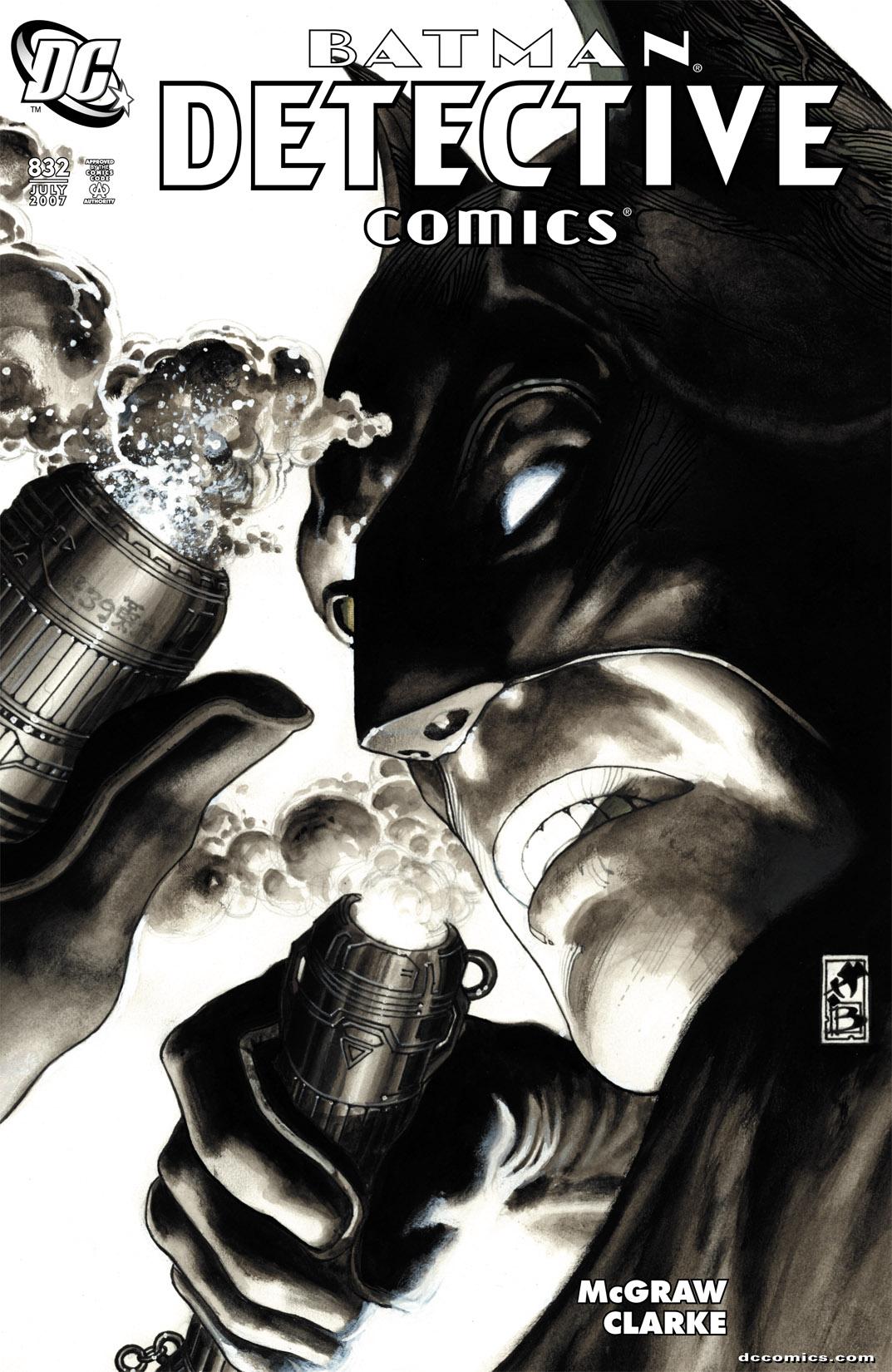 Detective Comics (1937) 832 Page 1