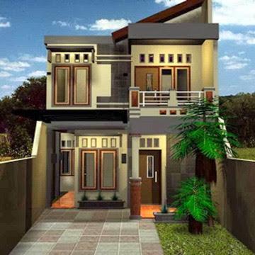 desain rumah minimalis 2 lantai ukuran 6x10 meter