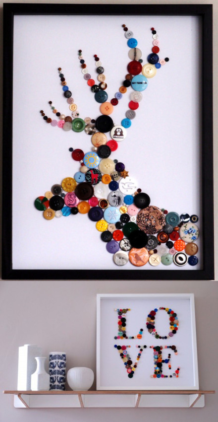 Creative and Cool Ways To Reuse Old Buttons (15) 3