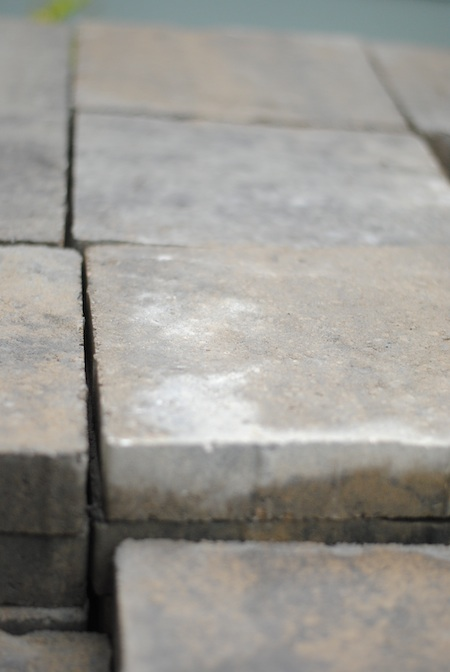 Building A Patio Fire Pit On Concrete: The Remodeled Life: Building The Patio