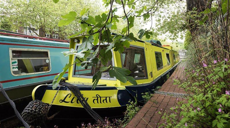 Dormire nelle case più belle di Londra la casa galleggiante a Little Venice