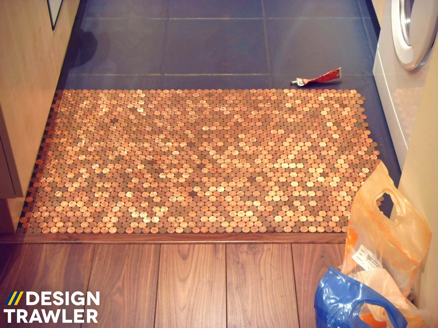Design Trawler The Penny Floor That Started A Craze
